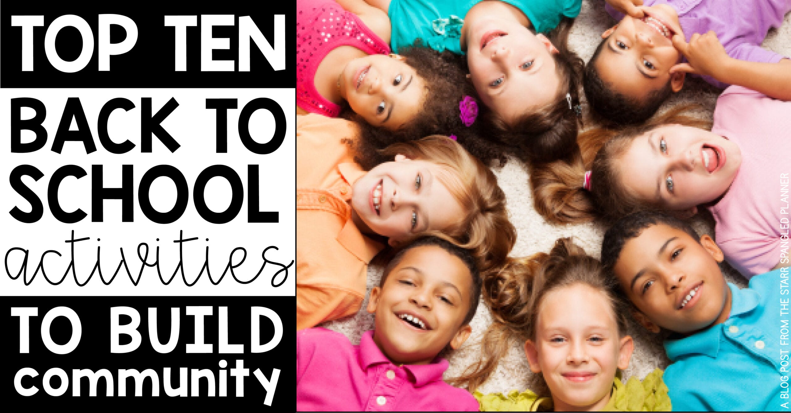 Favorite Back to School Activities to build community in your classroom in the first weeks of school!