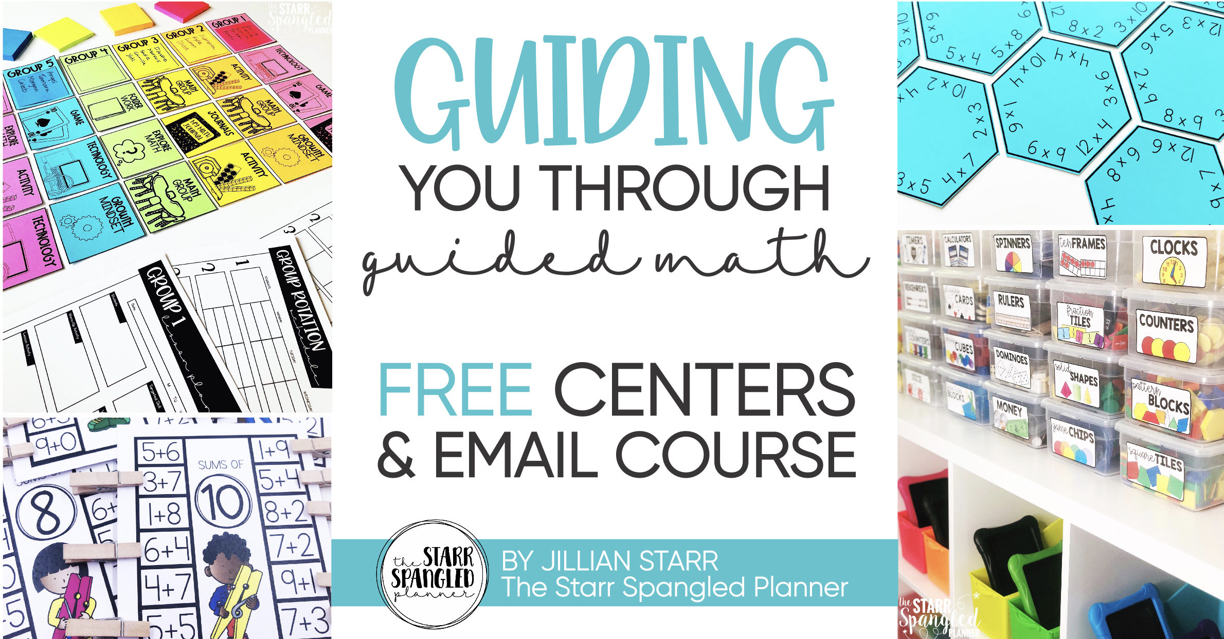Free Guided Math Center Course