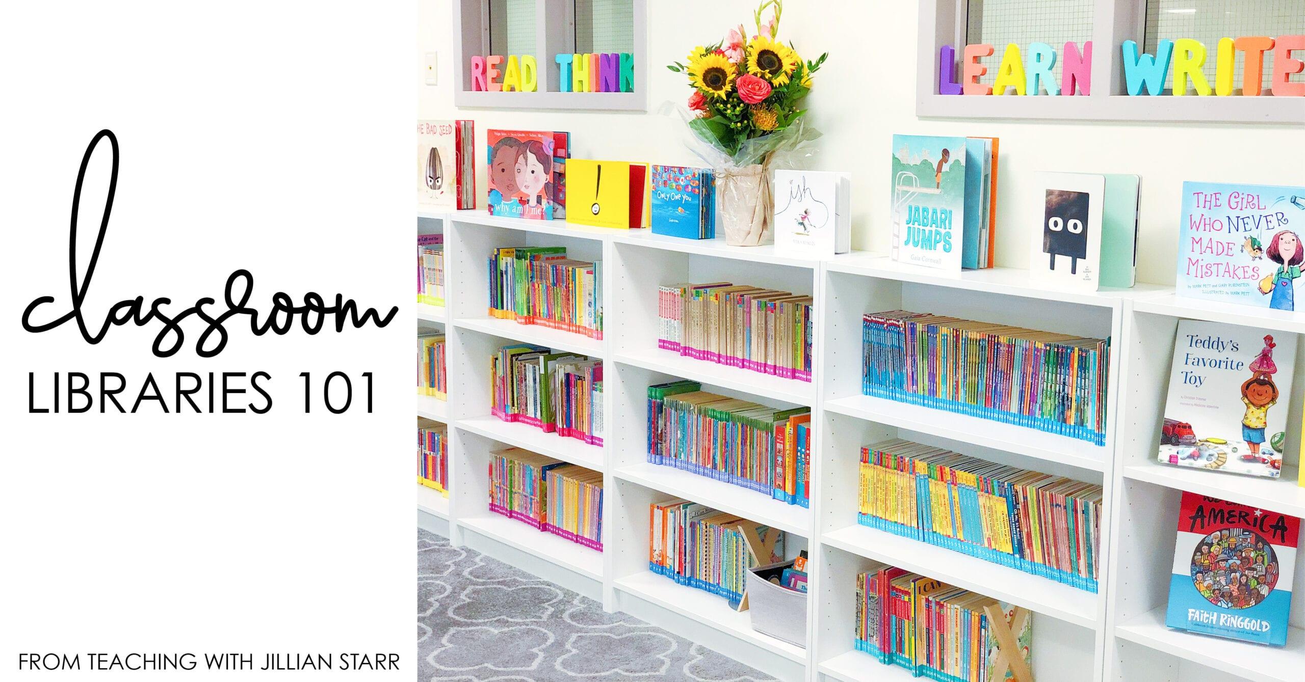 Remarkable Classroom Library Organization Teaching With Jillian Starr Home Interior And Landscaping Spoatsignezvosmurscom