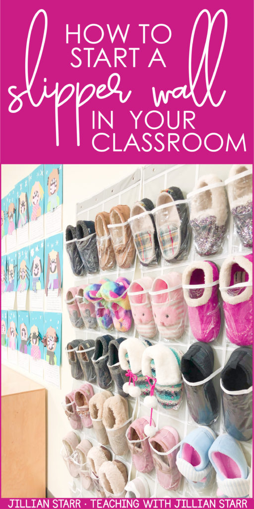 Teachers, help your students cozy up for some great learning! Having students change into slippers is one of my favorite ways to create a warm and safe learning environment. I have used it in my 1st, 2nd and 3rd grade classroom. Feeling comfortable helps increase a student's ability to focus, and their willingness to engage in the content. Check out this post to get all the details and learn how to make this a part of your classroom community too! #classroomcommunity #sensoryneeds #classroom