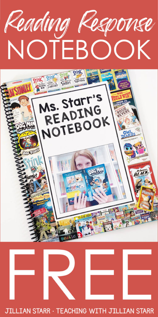 These FREE Reading Response Notebooks have been a GAME CHANGER in my classroom. In this post, I spell out how we created these individualized journal covers, how we used these reading response journals to get to know each other as readers, as well as how to get students invested and engaged in writing about reading! These journals are the PERFECT idea for any literacy curriculum, and best of all? They're FREE! Click to grab your free template now! For 1st grade, 2nd grade and 3rd grade.