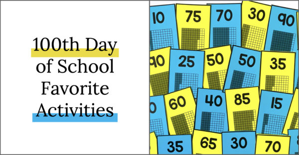 The 100th Day of School is such a fun day to engage students in your classroom. From math games, to writing activities, to read alouds, we're sharing all of our 100th Day favorite ideas and you don't want to miss it!