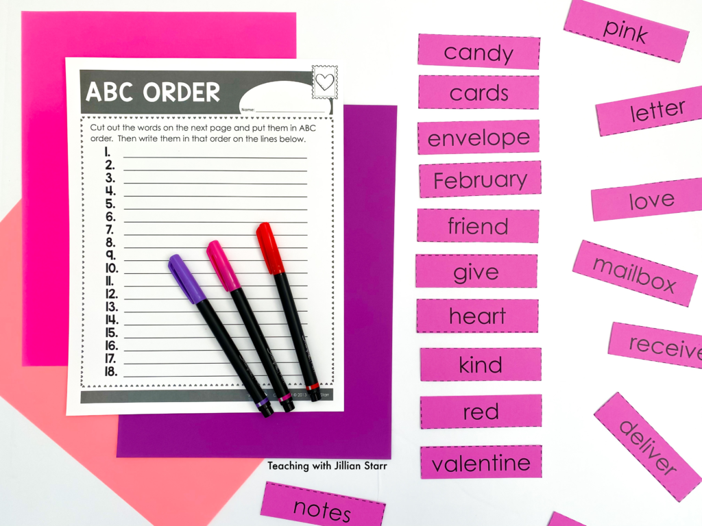 Valentine's Day Word Work! These fun activities are perfect for any first and second grade classroom. Free printable included!