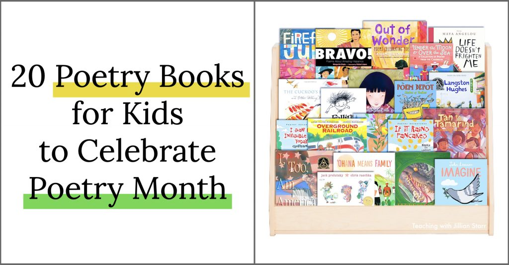 Favorite Poetry Books for Kids to Celebrate Poetry Month