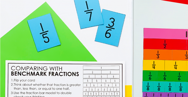 Comparing Fractions Free Printable Activity for 3rd Garde