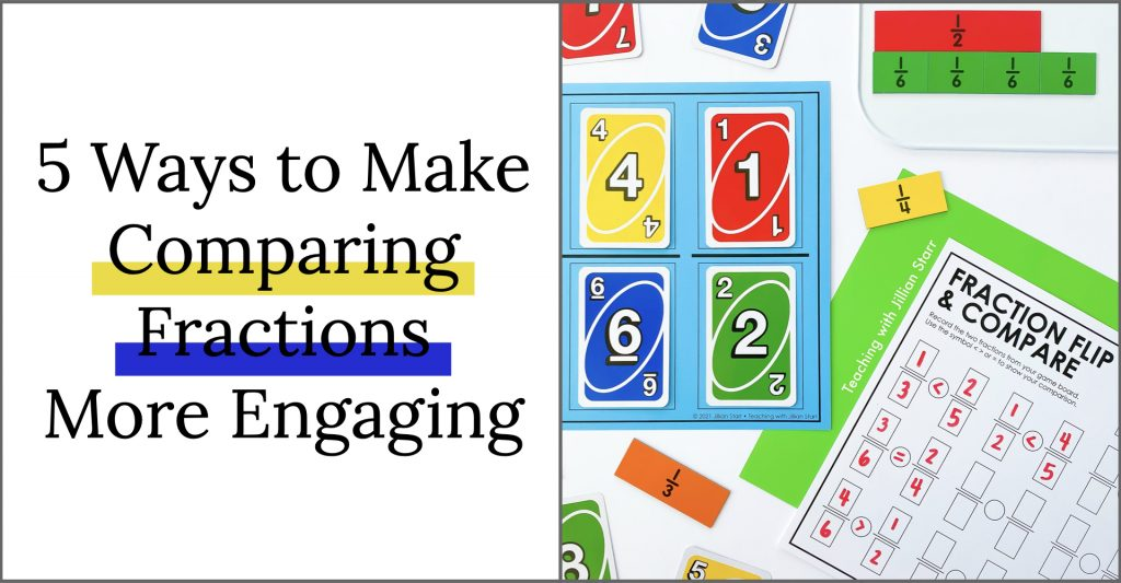 Comparing Fractions Games & Activities for 3rd Grade
