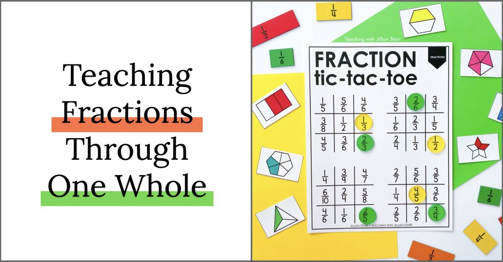 Teaching Fractions through One Whole