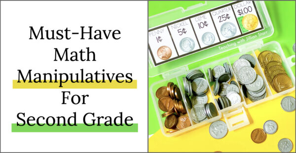 Five Must-Have Math Manipulatives for Second Grade. Second grade math manipulatives for centers and small group work.