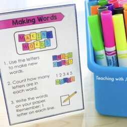 Three must-have visual supports for literacy centers. Visual directions for elementary centers.