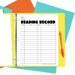 Why individual student binders are my favorite literacy hack