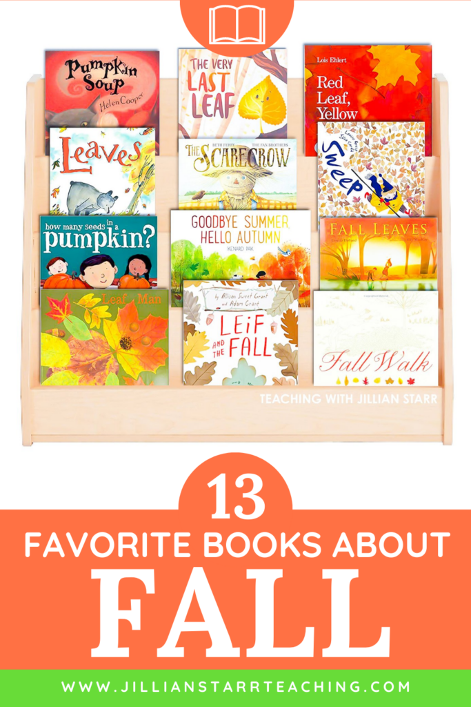 13 fall read alouds for the classroom. These 13 picture books for kids are perfect to welcome in the fall season.