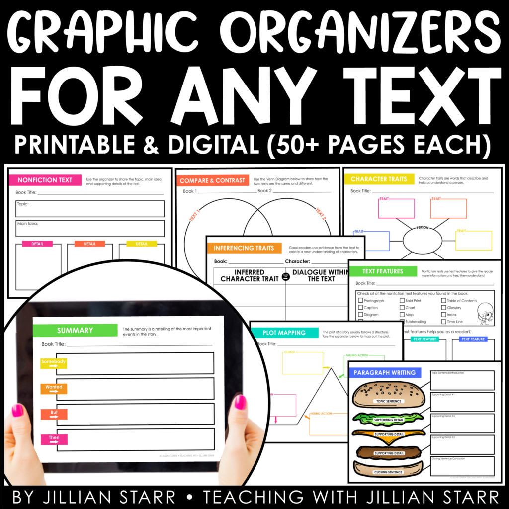 Reading Graphic Organizers for ANY text.